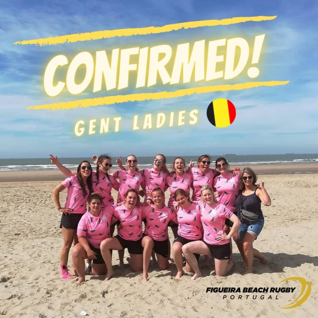 Gent Ladies in Figueira Beach Rugby